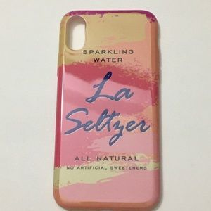 La Seltzer iPhone X/XS Case